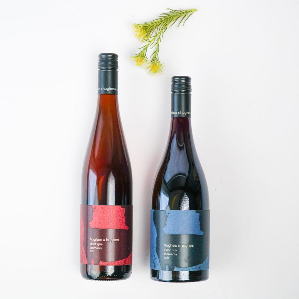 Two Wine Hamper Hughes & Hughes